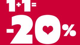 Dziel się miłością do sportu Walentynki z GO Sport Sport, LIFESTYLE - W dniach 13-15 lutego w sklepach GO Sport działać będzie promocja, która przy zakupie minimum dwóch produktów, obniży cenę całych zakupów o 20%!