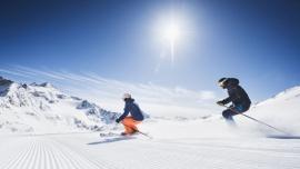 Wiosenne narciarstwo w dolinie Stubaital
